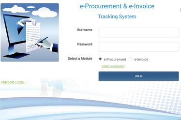 DC PSC - eProcurement & eInvoice System