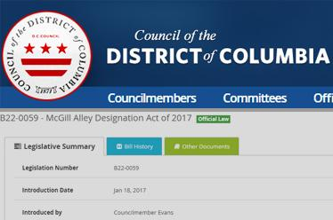 DC Council Legislative Information Management System